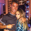 El baile deCristiano Ronaldo y Jennifer López