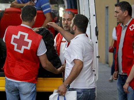 Los refugiados llegan a Sarria tras un periplo de 17 horas desde el Líbano