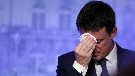 Valls baraja dimitir como primer ministro para ser candidato al Elíseo