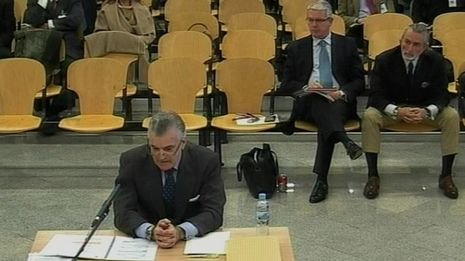 Bárcenas dice que no declaraba el dinero de Suiza porque lo tenía «a modo de fondo de pensiones»