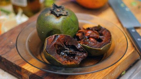 El zapote negro, la saludable fruta tropical que imita al sabor y la textura del chocolate