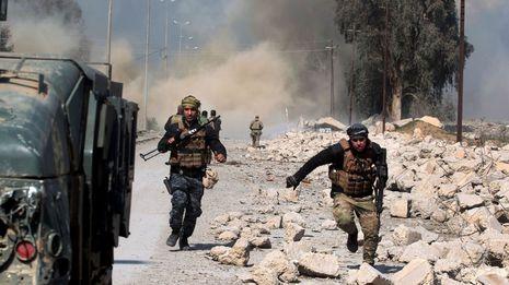 Los iraquíes recuperan el aeropuerto de Mosul