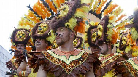 Galicia disfruta el Carnaval