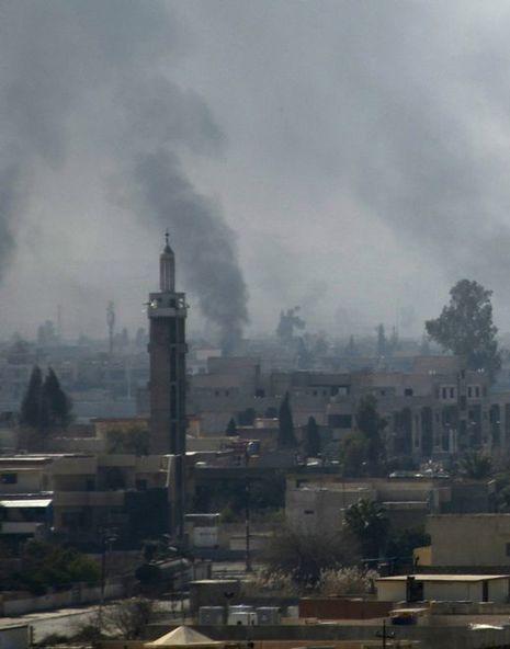La guerra de Siria espera a Trump