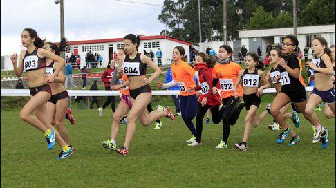 Campeonato comarcal de campo a través en Lourenzá