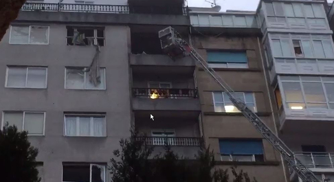 Los efectos de la explosión de Vigo