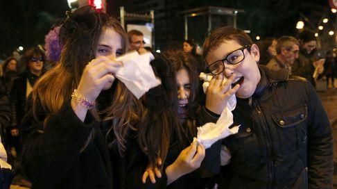 Ourense despidió entre llantos al entroido