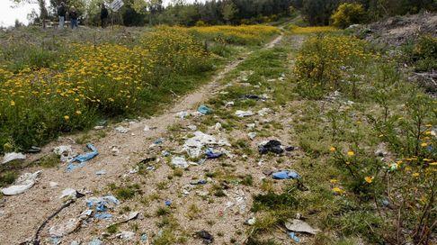Veinte años de basura afloran en Trabanca Badiña