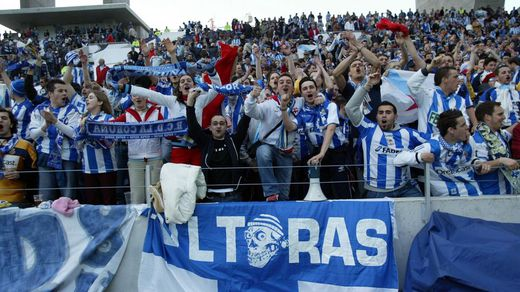 Semifinales de Champions League en Do Dragao, Oporto-Deportivo, abril 2004.