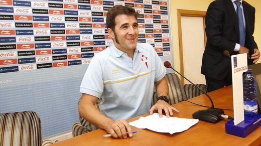 Gonzo ha colaborado con el club en más de una ocasión; en la imagen, presentando la campaña de abonados en el 2011.