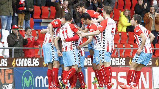 Las mejores imágenes del triunfo del Lugo ante el Albacete