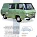 El mapa de la furgoneta media y ligera