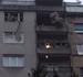Caída de cascotes por la explosión por butano de Vigo
