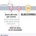 Calendario electoral para los residentes en el exterior