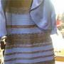 El color del vestido azul y negro o blanco y dorado, una ilusión óptica