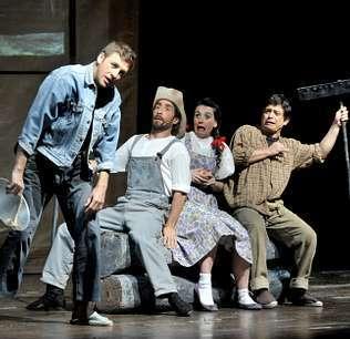 En Lugo se representó «El mago de Oz».
