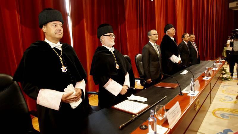 Apertura del curso universitario gallego en A Coruña