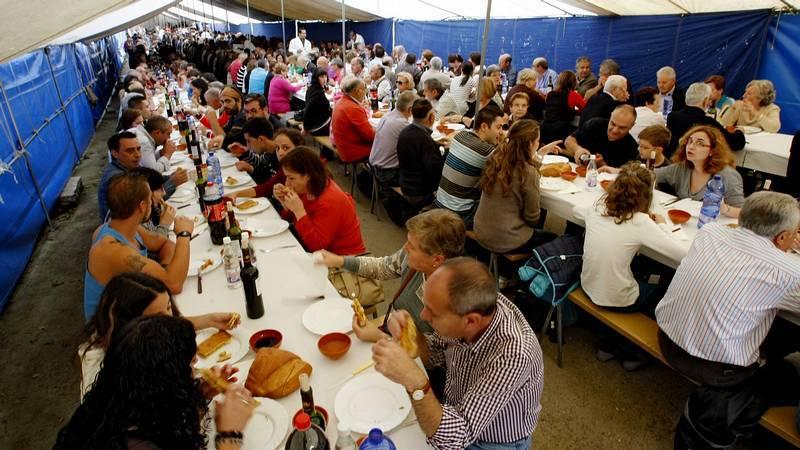 Gran fiesta de la carne en Montederramo
