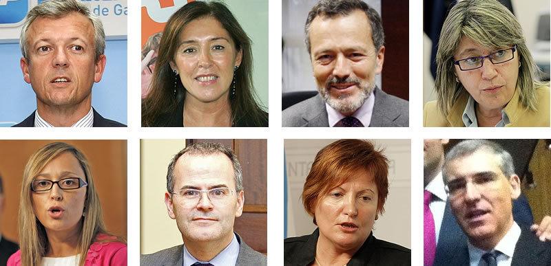 El nuevo Gobierno de Alberto Núñez Feijoo
