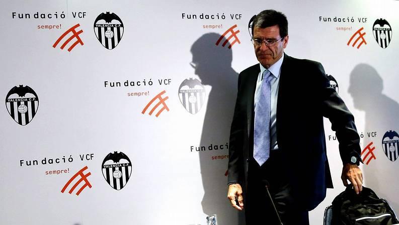 El presidente de Fundación Valencia