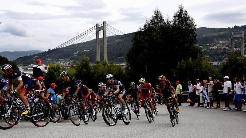 La Vuelta brilla por Vigo