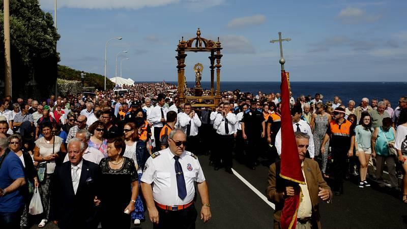 La Romaría da Virxe da Barca, en imágenes