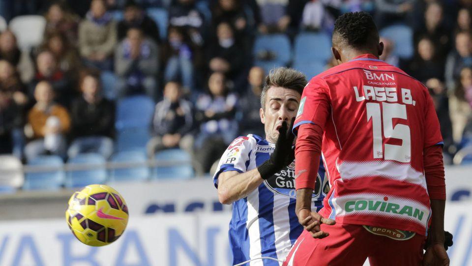El Deportivo - Granada, en fotos
