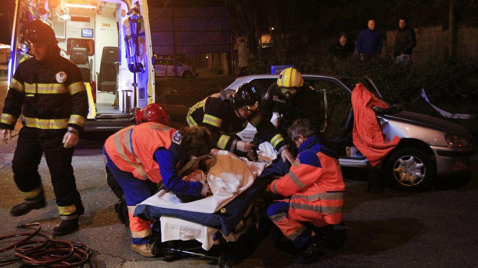 Accidente de tráfico en Rubiáns