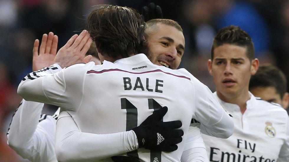 El impresionante gol de Benzema a la Real Sociedad