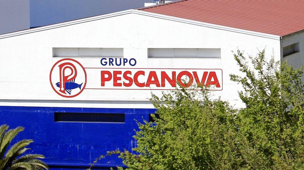 Instalaciones y sede principal de Pescanova en Vigo.