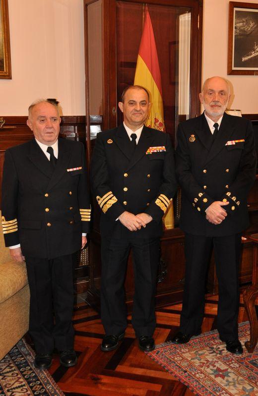 El teniente coronel de Infantería de Marina José Andrés Díaz Barros ha asumido la dirección del Archivo Naval de la Armada en Ferrol, relevando al capitán de navío Antonio Jover Pons