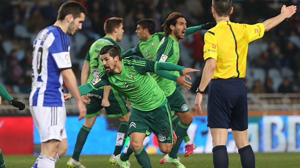 El Real Sociedad 1 - Celta 1, en fotos
