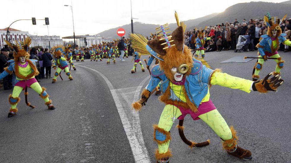 Desfile de carnaval en Viveiro