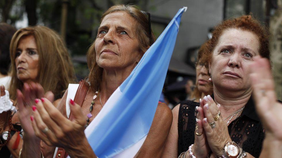Argentina sale a la calle para recordar al fiscal Nisman