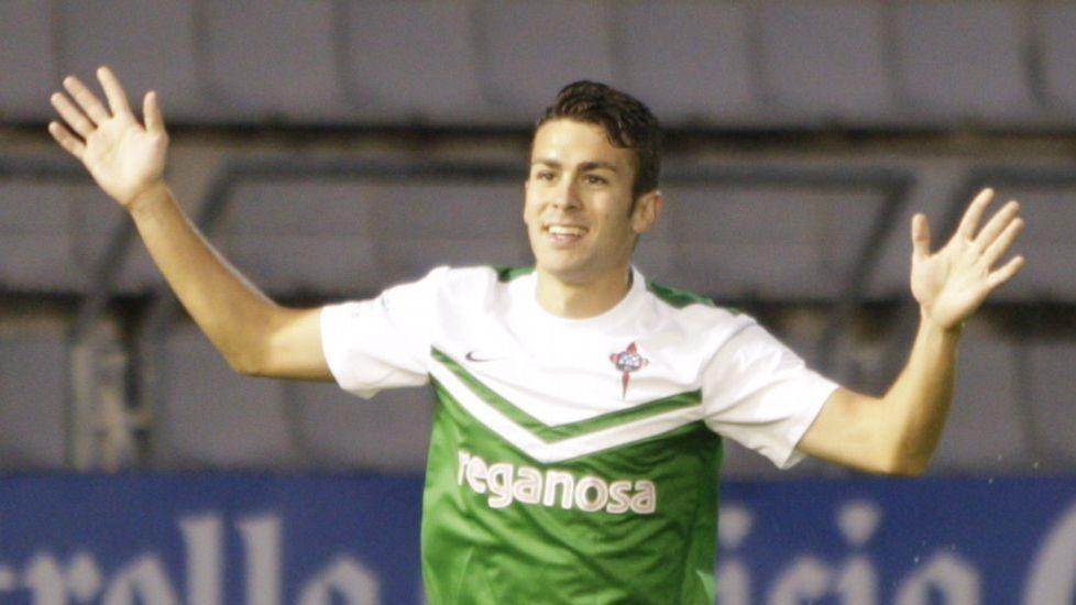 Dani Rodríguez jugó los 26 partidos de liga con el Racing de Ferrol