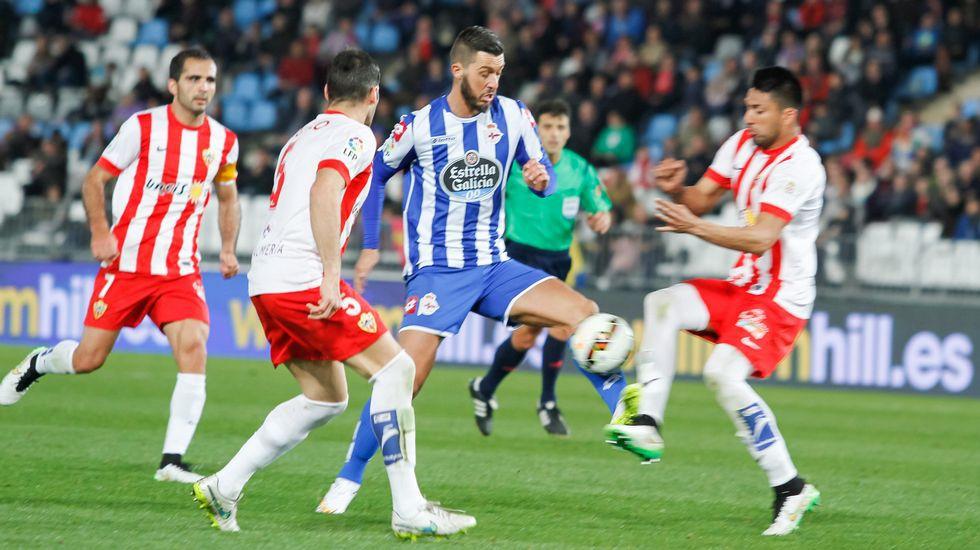 Vídeo resumen del Almería 0 - Deportivo 0
