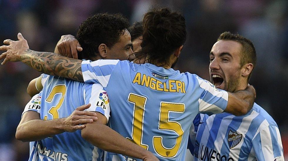 El Málaga manda a golazos