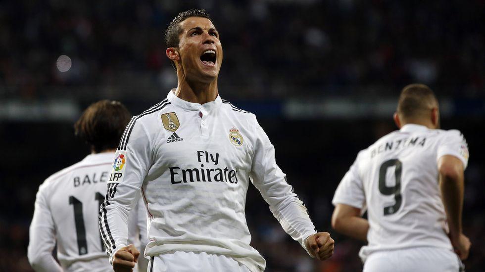El piscinazo de Cristiano Ronaldo ante el Celta