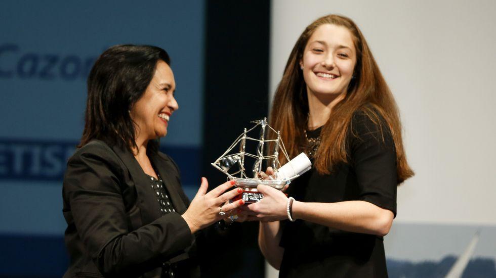 Claudia Rojo fue finalista en la Gala do Deporte Ferrolán