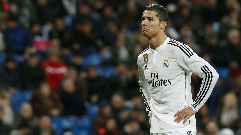 El enfado de Cristiano con el Bernabéu