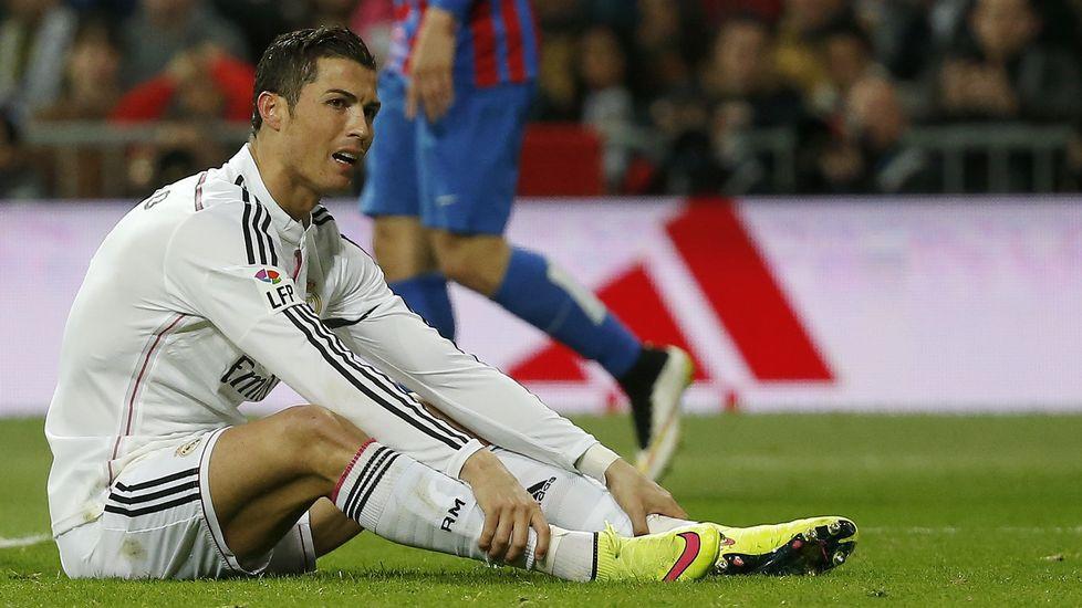 Cristiano Ronaldo se gripa