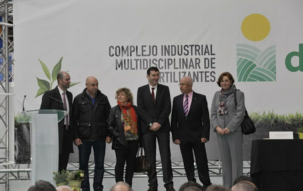 El Consejo Rector de Delagro visitó ayer las instalaciones del complejo multidisciplinar.