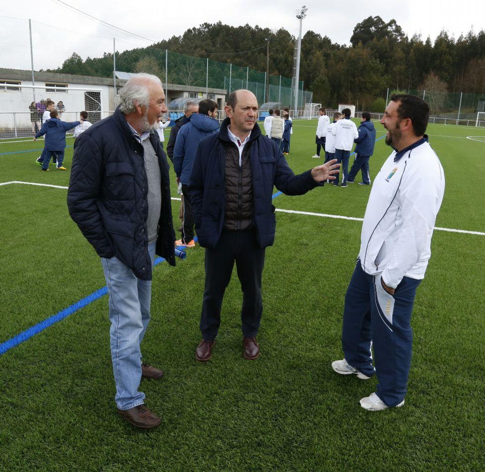 Un campo de fútbol, a la última
