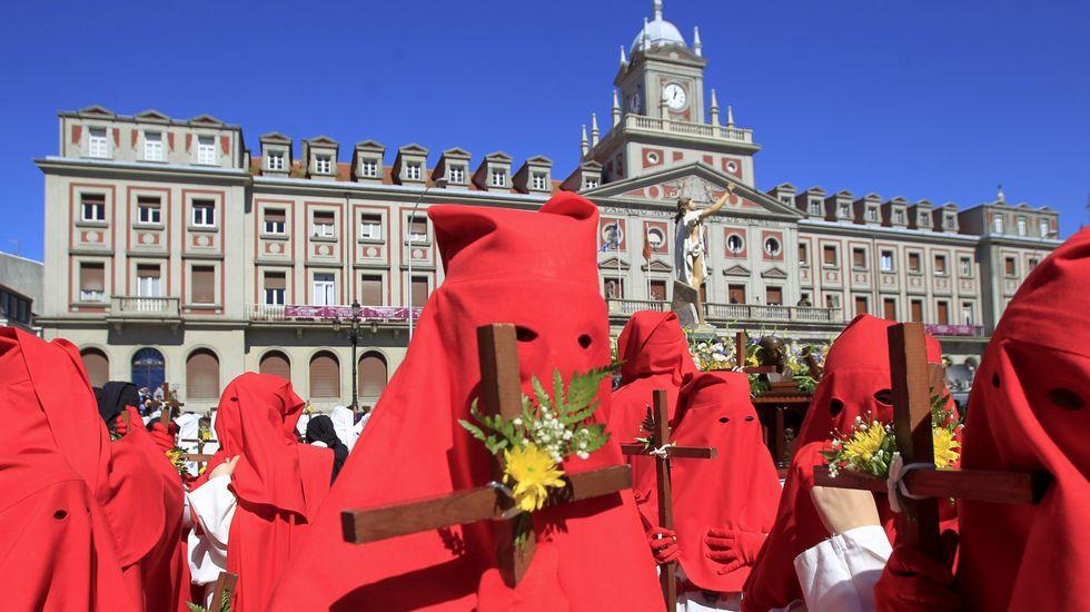 Las procesiones del Domingo de Resurreción en Galicia