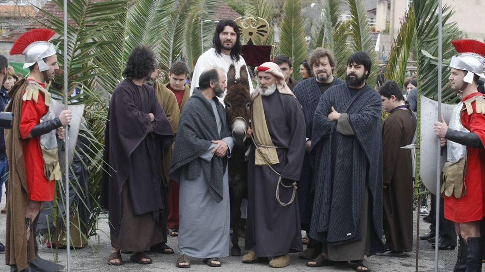 Las imágenes de la Semana Santa en Arousa
