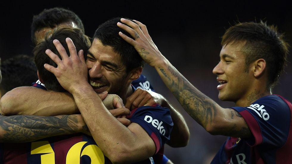 La exhibición goleadora del Barcelona ante el Getafe