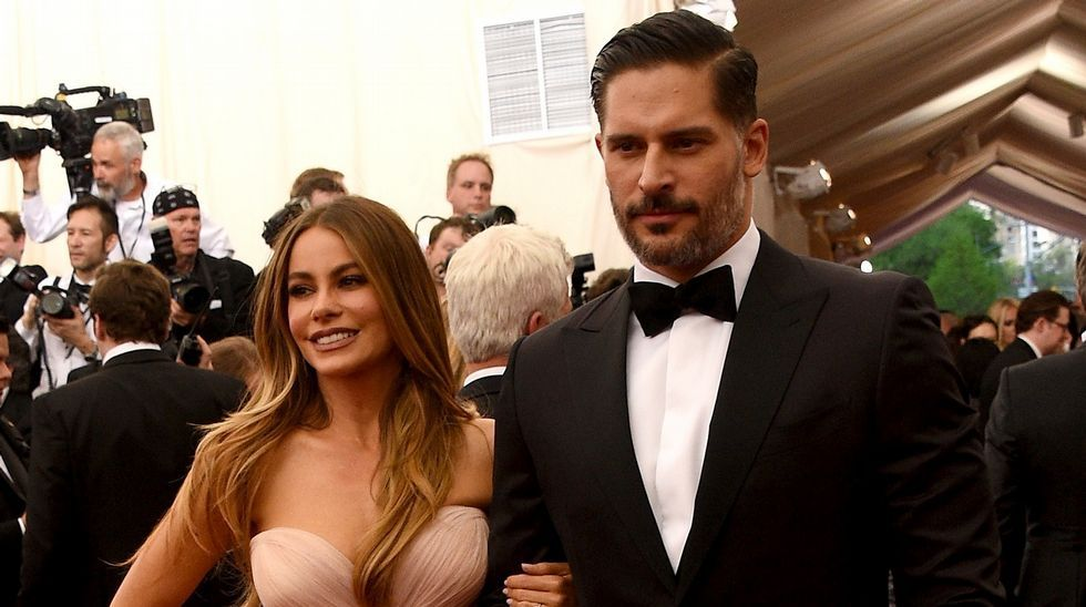 Sofia Vergara con Joe Manganiello