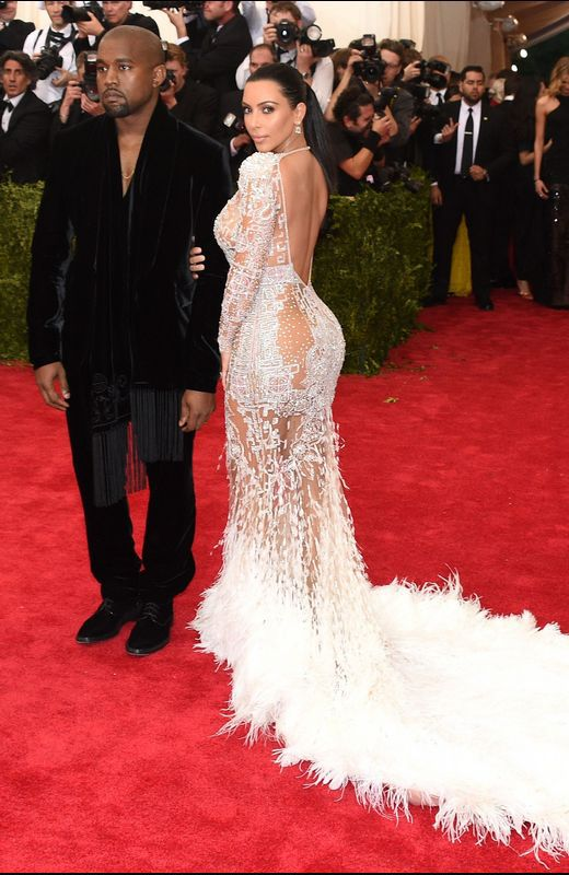 Kanye West con Kim Kardashian