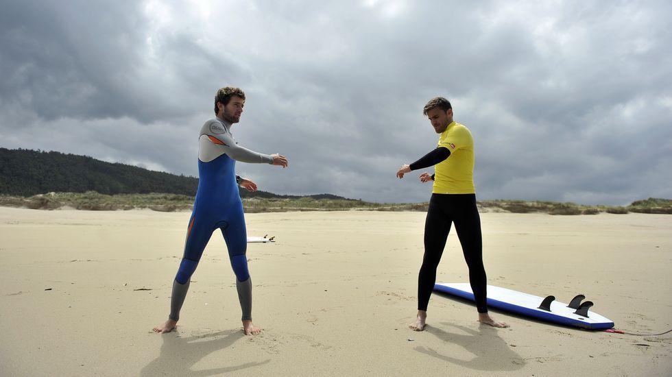 Pablo Rey se pasa al surf