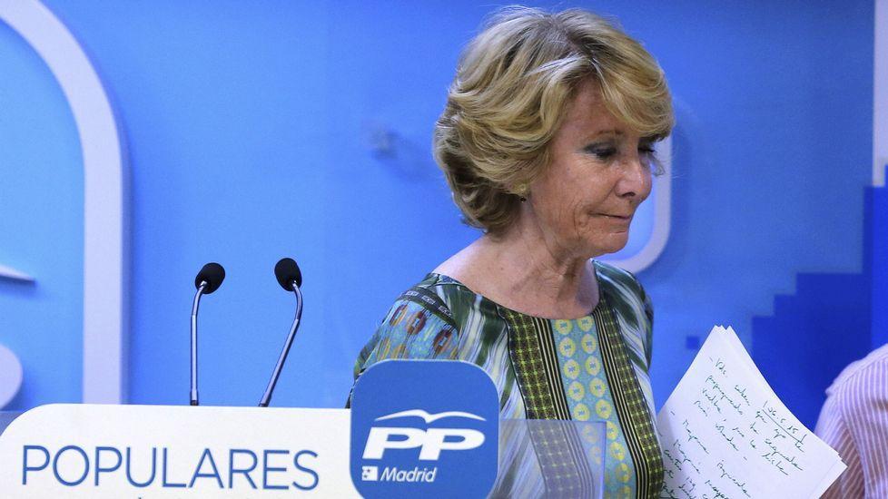 Aguirre sitúa a Carmena «fuera de quienes defienden el orden constitucional»